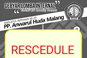 Reschedule Jadwal Lomba Internal HI dirubah