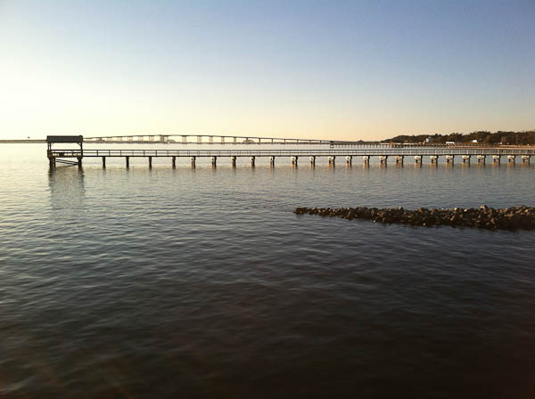 Gulf of Mexico @ Ocean Springs, MS