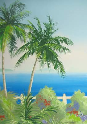 caribbean-palm-trees-mural