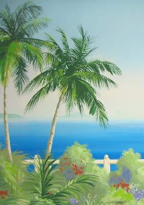 caribbean-palm-trees-mural