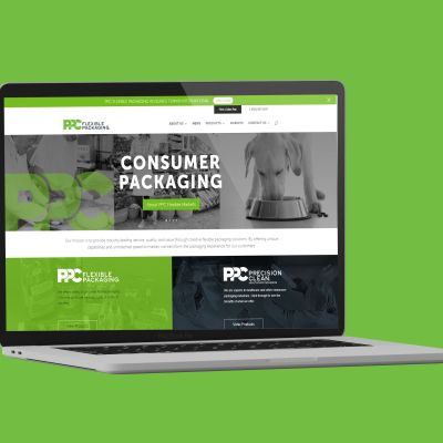 PPC Flexible Packaging launches new website as part of company rebrand