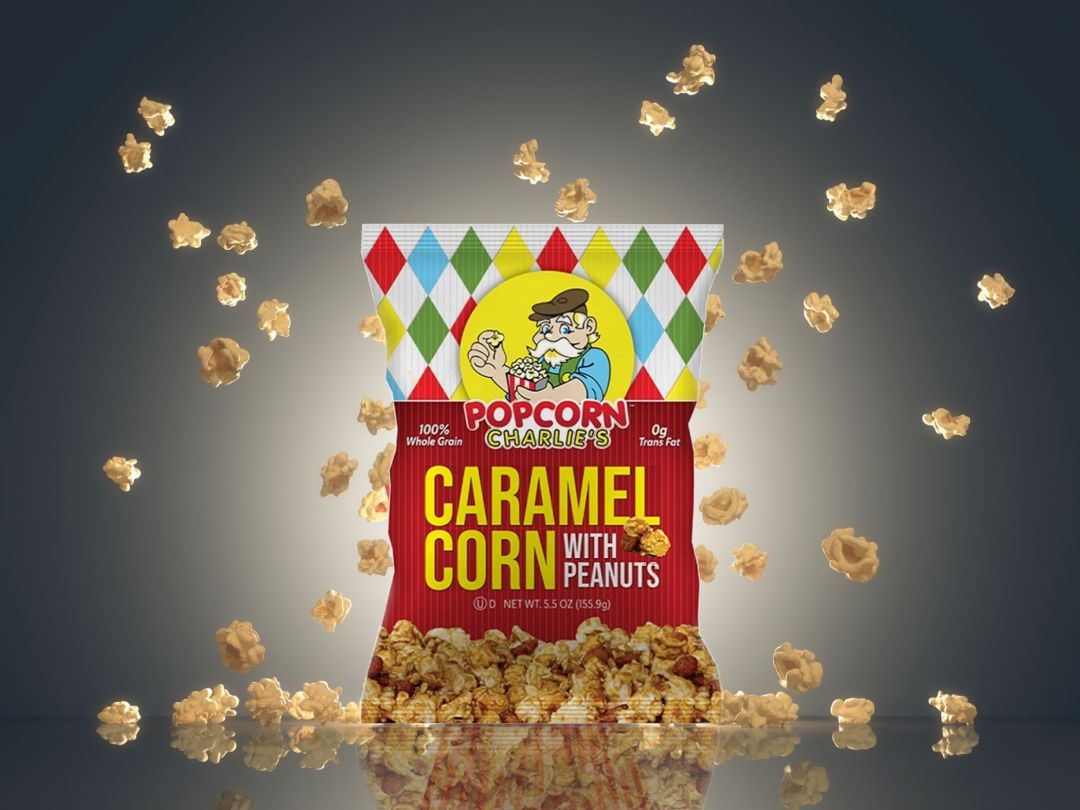Popcorn Charlie's new product released with PPC Flex Packaging™