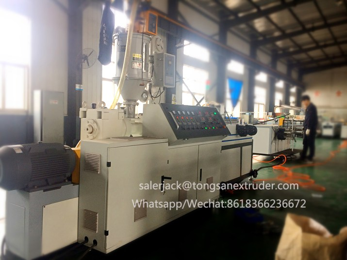 single wall corrugated pipe extrusion line