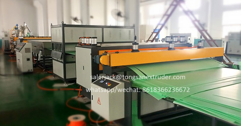 pp corrugated sheet production line