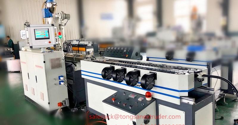 corrugated plastic pipe machine