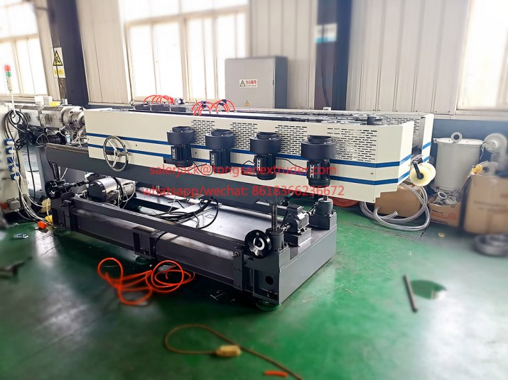 corrugated pipe corrugator
