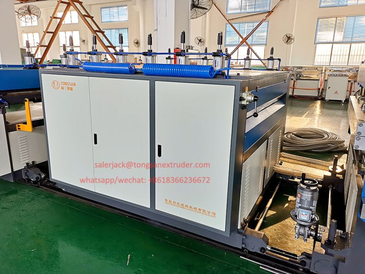 PP coroplast sheet making machine