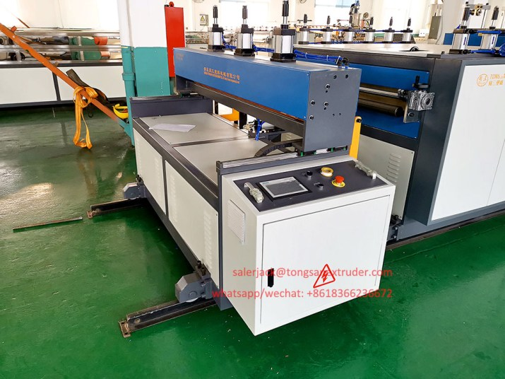 PP coroplast sheet machine