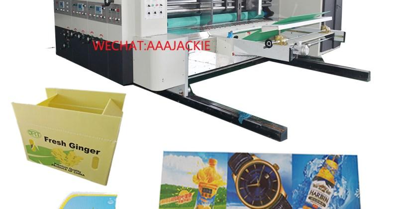 Printing machine pp corrugated sheet