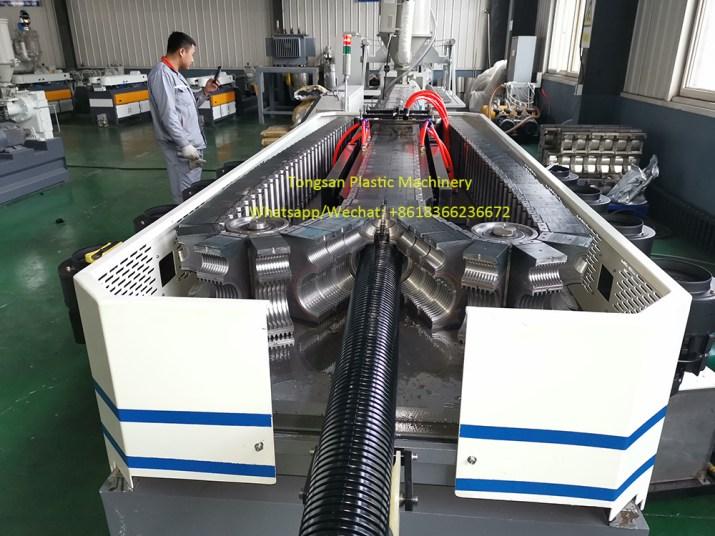 maquina  de tubo corrugado de nylon PA