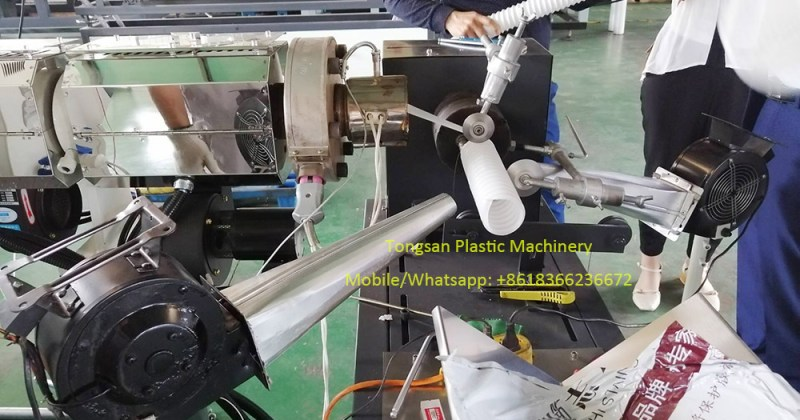 PP steel wire hose making machine