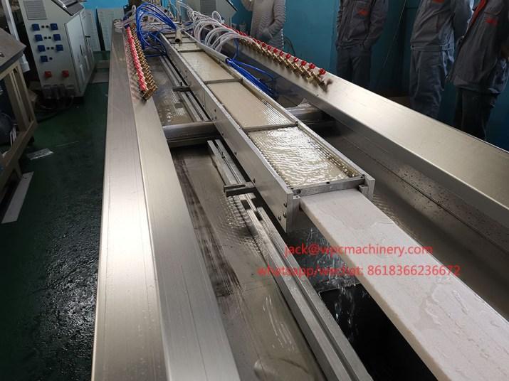 plastic lumber profile making machine