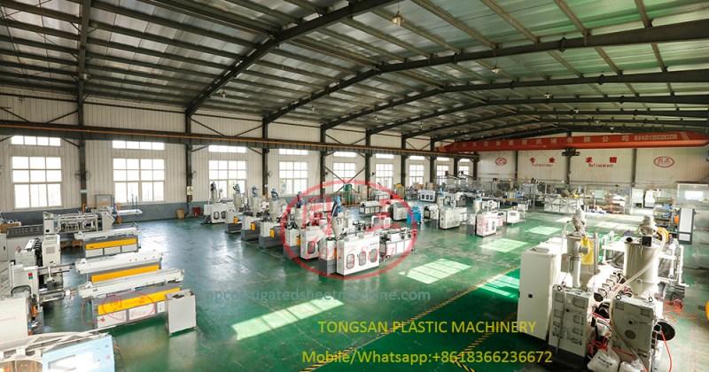 corrugated pipe machine manufacturer