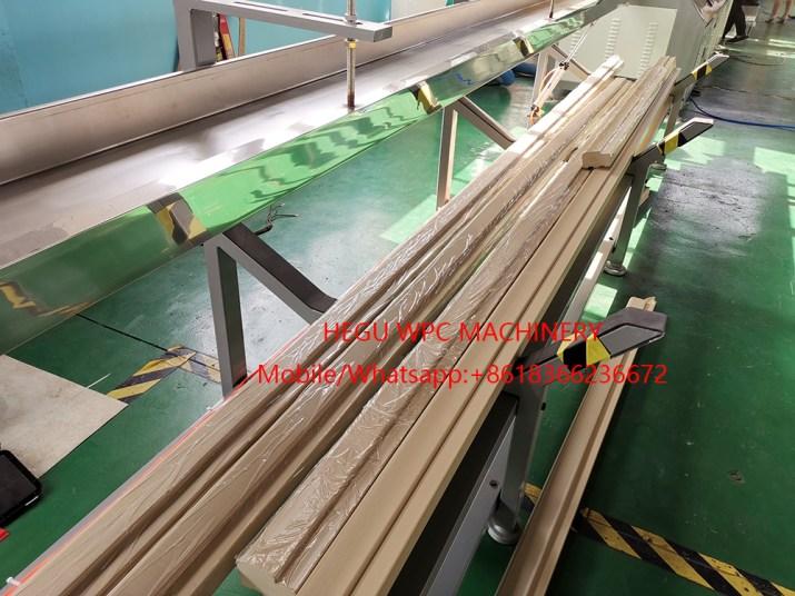 Ligne de production  de Portes  Profilés WPC PVC
