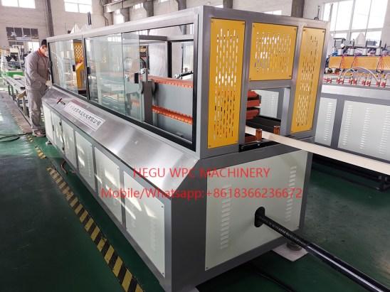 Ligne d'extrusion de Portes  Profilés WPC PVC