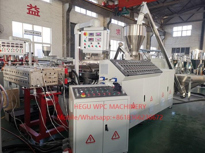 WPC PVC Door Extruder Machine