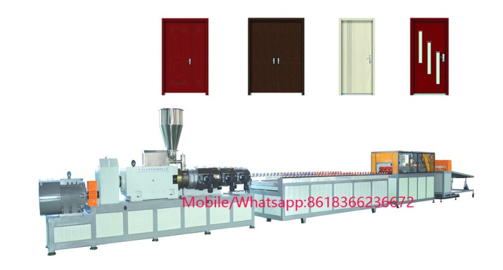 WPC PVC Door Panel Board Production Line