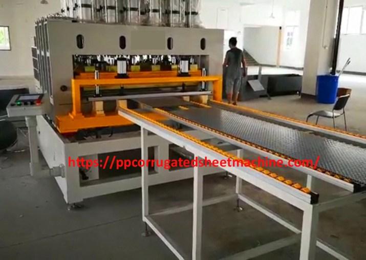 PP Corrugated Sheet Bending Machine