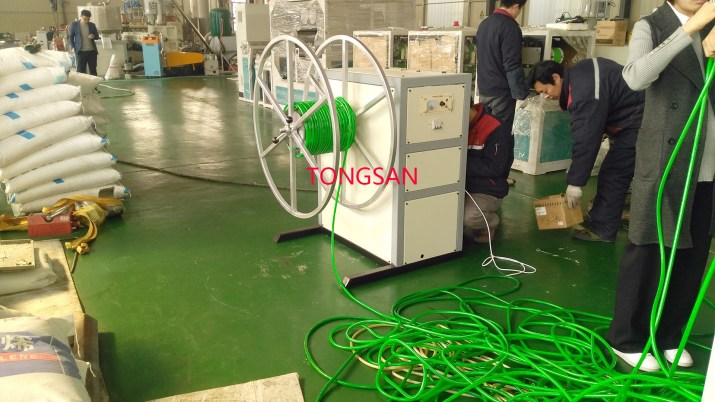 PVC garden hose machine