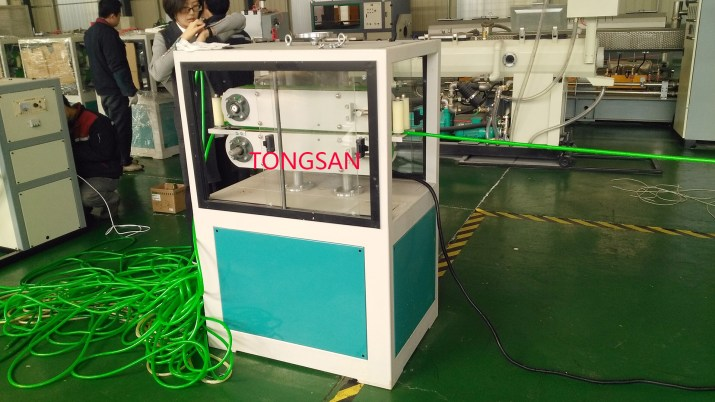 PVC fiber reinforced hose making machine