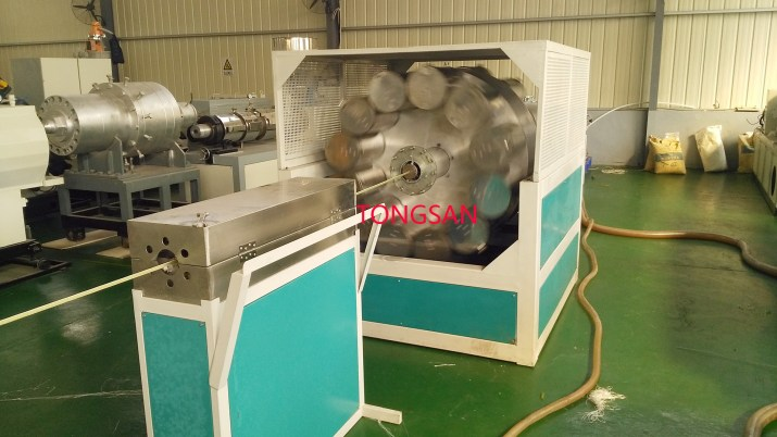 PVC braided hose machine