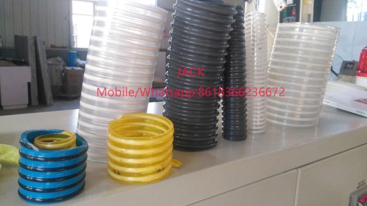 Machine d'extrusion de tuyau d'aspiration Flexible