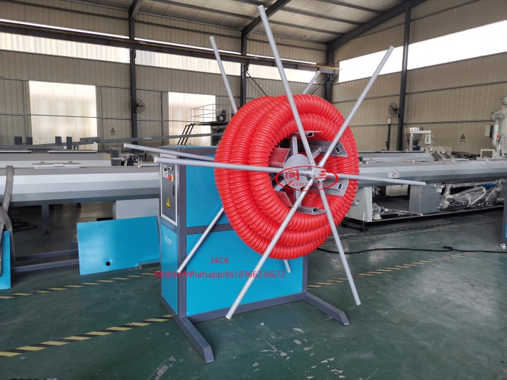 HDPE Sprial Pipe Machine