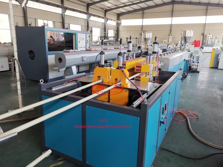 Línea de producción de tubería de conduito eléctrico de PVC