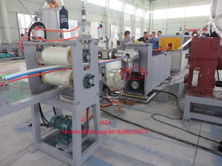 Máquina de fabricación de Tubería de microducto de HDPE