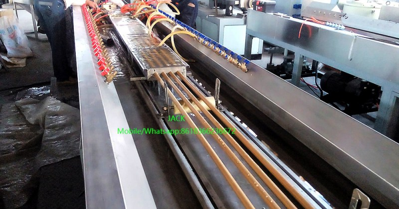 WPC Broom Stick Extrusion Machine