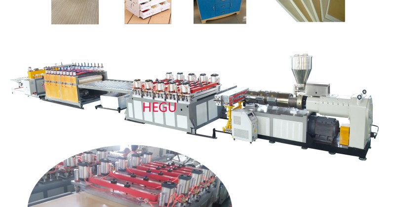 WPC PVC Furniture Board Production Line