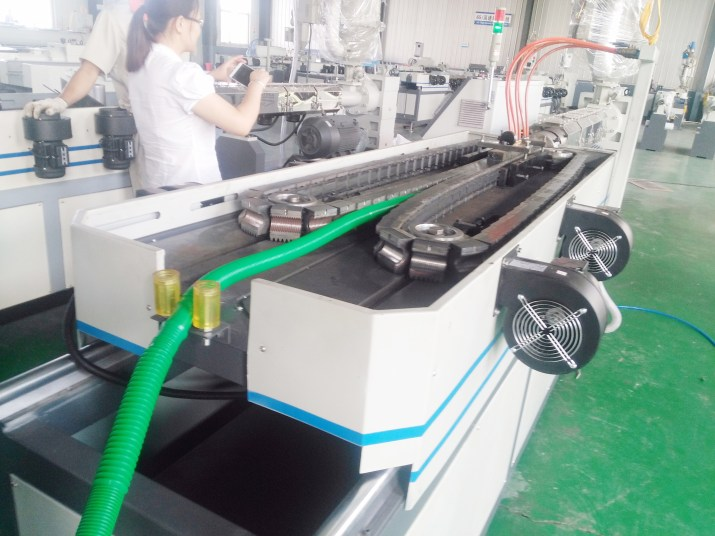máquina de drenaje de la máquina de la máquina de la máquina de extrusión de tubos
