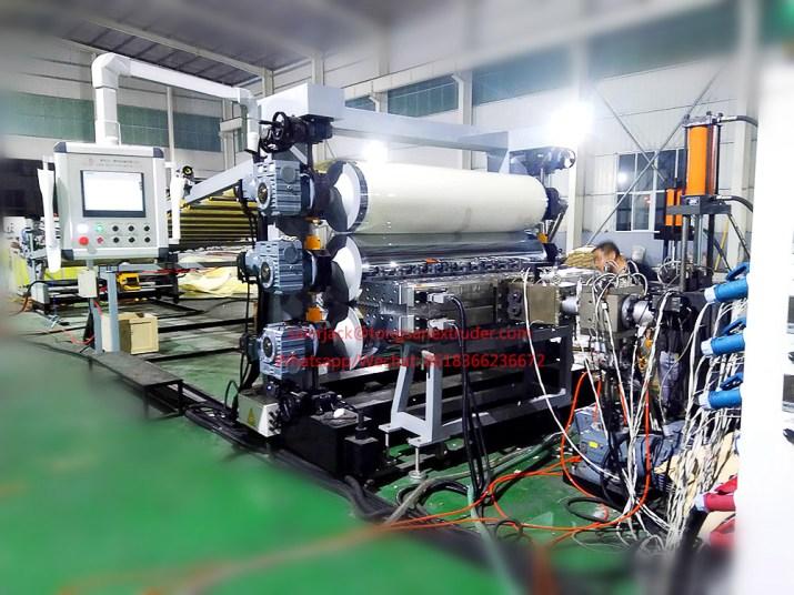 Máquina láminas ABS PS PMMA