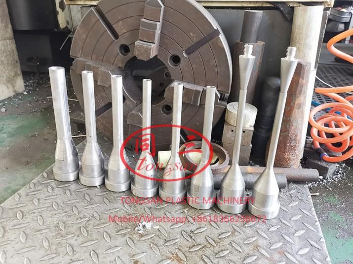 flexible plastic corrugated pipe extrusion machine