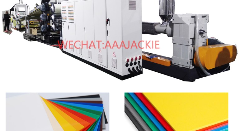 Plastic Sheet Board Extrusion Machine