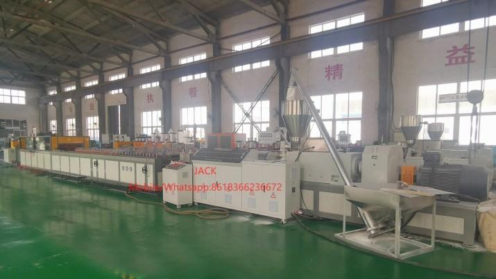 Wood Plastic WPC PVC Door production line