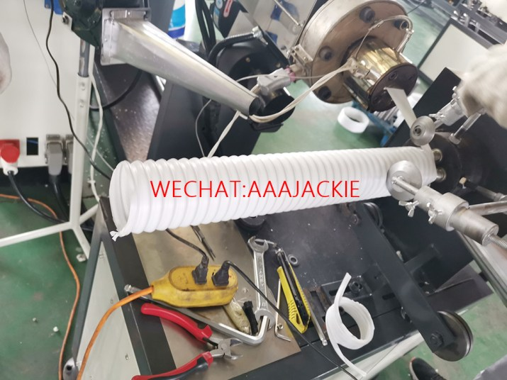 PP Air Conditioner Exhaust Pipe Making Machine