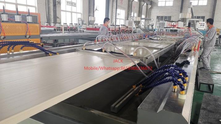 WPC PVC Door Panel Plate Making Machine