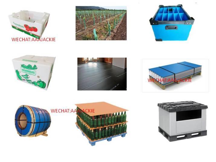 Dây chuyền sản xuất  tấm nhựa danpla PP