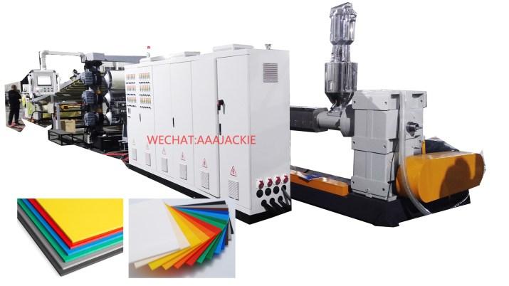 Plastic Sheet Board Extrusion Machine Line