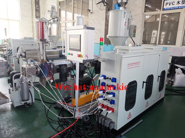 ABS profile extruder