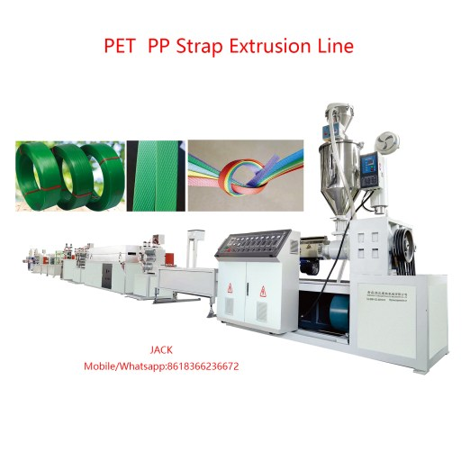 PET PP strap extrusion machine