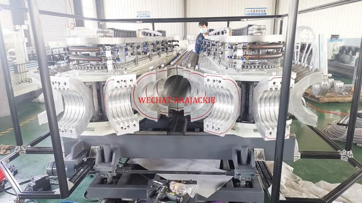 Double Wall Corrugated Pipe Making Machine