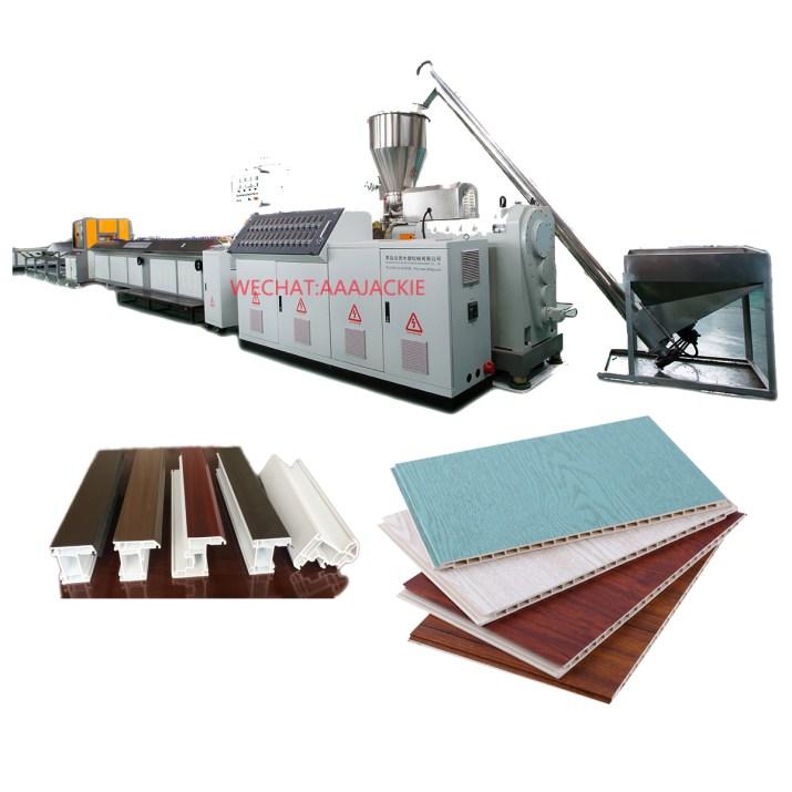 Máquina de extrusión perfiles PVC UPVC
