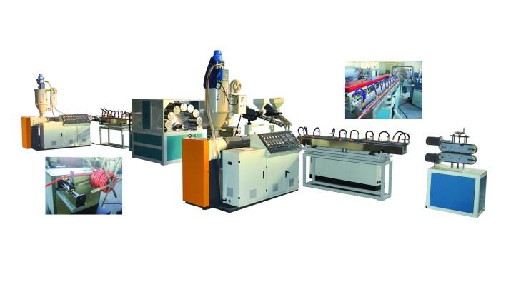 PVC Örgülü Hortum Üretim Hattı