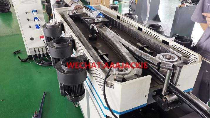 Naylon poliamid Elektrik kanalı oluklu boru Makinesi