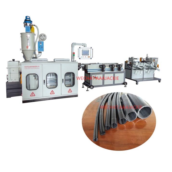 Plastik PP PE PVC Kablo Muhafaza Borusu Ekstrüzyon Makinesi