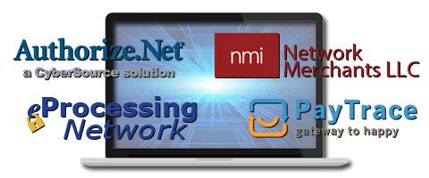 eCommerce credit card processing gateways