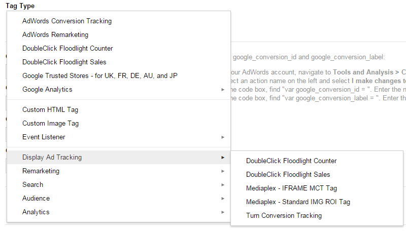 google tag manager for google analytics