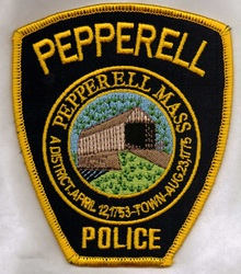 The Pepperell Police Patch